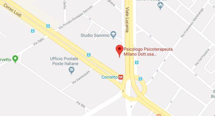 Via Lucania 3 Psicologo Milano
